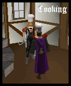 Cooking Cape model