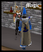 Magic Cape model