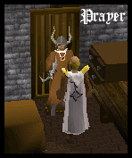 Prayer Cape model