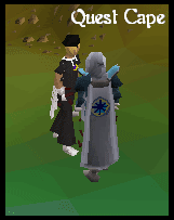 Quest Points Cape model