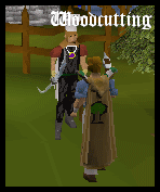 Woodcutting Cape model