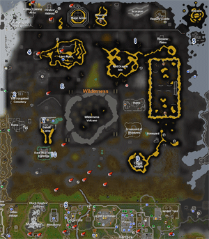 Wilderness Team Cape Sellers map