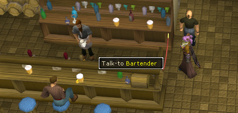 Talk to the Bartender