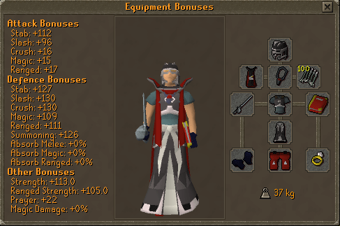Tormented Demon Hunting - Void Armour equipment