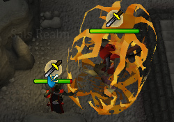 Tormented Demon Hunting - Tormented Demon's shield