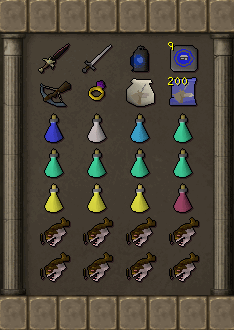 Tormented Demon Hunting - Barrows armour equipment