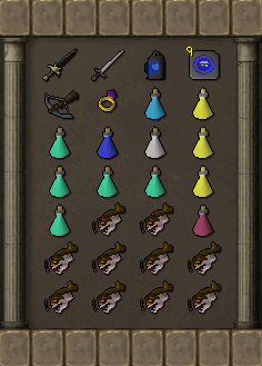 Tormented Demon Hunting - Welfare armour inventory