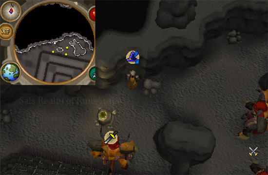 Tormented Demon Hunting - Luring spot 4