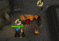 Tormented Demon Hunting - Tormented Demon melee attack