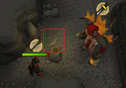 Tormented Demon Hunting - Tormented Demon ranged attack