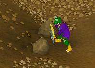A mining race!
