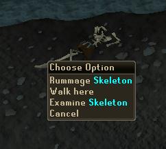 Rummage -> Skeleton