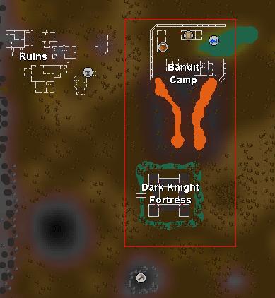 Bandit Camp and Dark Knight Fortress