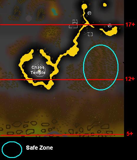 Dead trees map