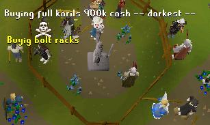 Karil's Barrows trades