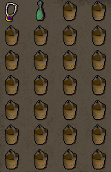 Inventory: Glory Ammy, Ectophial, 26 Buckets